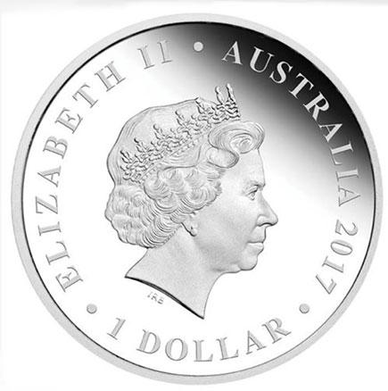 Austrália 1$ Casamento 2017