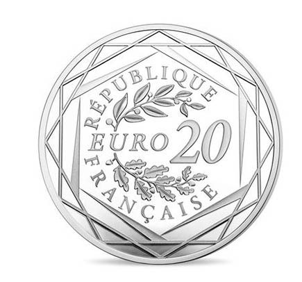 França 20€ Marianne 2017