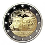 Itália 2€ Titus Maccius Plautus 2016 Brevemente