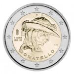 Itália 2€ 550 Anos da morte de Donatello 2016