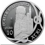 Itália 10€ Abruzo 2014