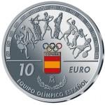 Espanha 10€ Equipa Olímpica  Proof 2016