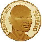 Portugal 7,50€ Eusébio Ouro Proof 2016