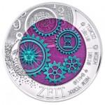 Áustria 25€  Niobium - O Tempo 2016