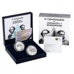 Colecção IV Centenário de Cervantes e Shakespeare 2016 - 10€ + 2 Libras