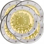 Alemanha 2€ 2015 - 30 Anos da Bandeira Europeia (5 letras)
