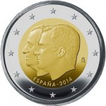 Espanha 2€ Sucessão de Trono 2014