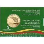 Lituânia 5€ 25 anos da Restauração da Independência 2015