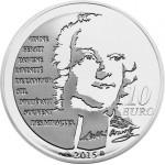 França 10€ 2015 - Manon Lescaut Prata Proof Brevemente