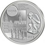 Bélgica 5€ 2015 - Mons Capital Europeia da Cultura Brevemente