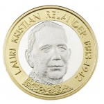 Finlândia 5€ Presidente Ralender 2016