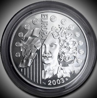 França 50€ 2003 1 Kg.