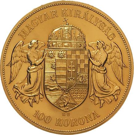 Hungria 100 Korona 1908