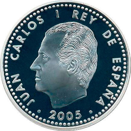 Espanha 10€ Paz e Liberdade  2005