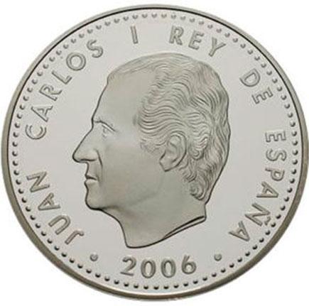 Espanha 10€ Imperador Carlos V  2006