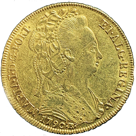 D. MARIA I  PEÇA (6400 RÉIS) 1790 R
