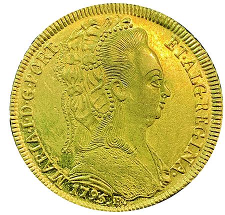 D. MARIA I  PEÇA (6400 RÉIS) 1795