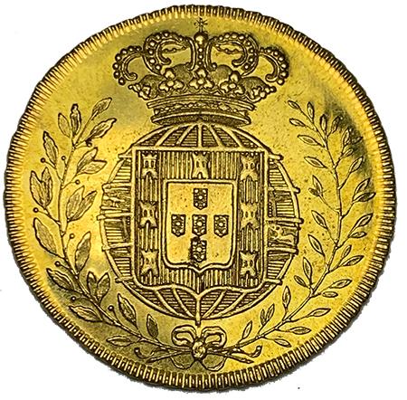 D. João VI Peça (6400 Réis) 1823