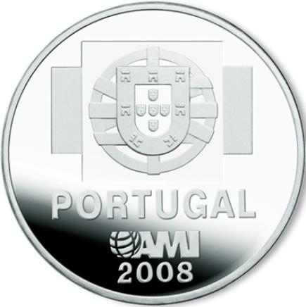 Portugal 1,50€ 2008 AMI Moeda Contra a Indiferença