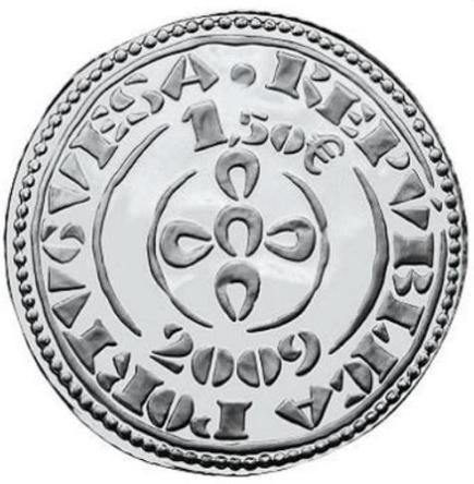 Portugal 1,50€ 2009 Morabitino