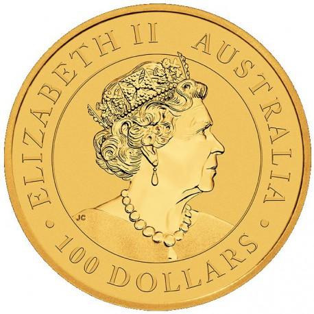 Australia 100 Dólares EMU 2020 1oz Ouro