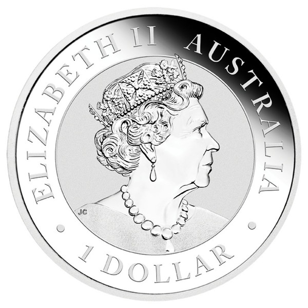 Austrália 1 Dollar Australian Emu 2020 Proof - Esgotada na Mint da Austrália