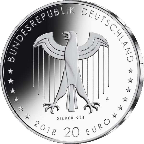 Alemanha 20€ 2018 Peter Behrens