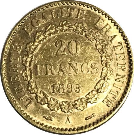 França 20 Francos Anjo ouro