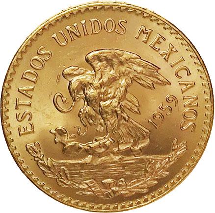 México 20 Pesos 1959 Ouro