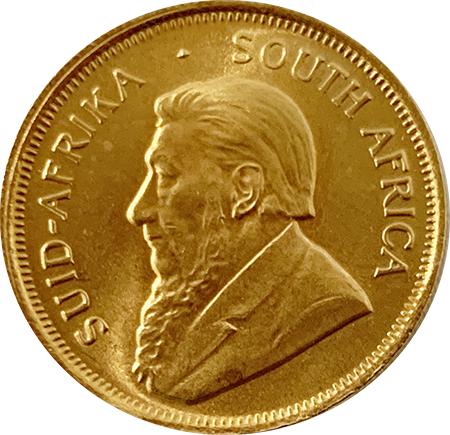 África do Sul 1/4 Krugerrand ouro 1985