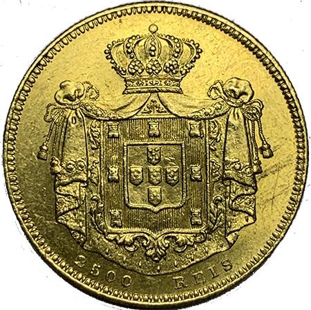 D. Maria II 2500 Reis 1851
