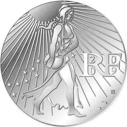 França 25€ 2009 - A Semeadora