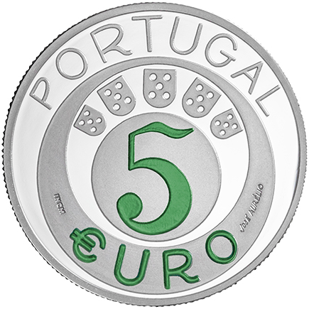 Portugal 5€ 45 Anos do 25 de Abril 2019 Prata Proof
