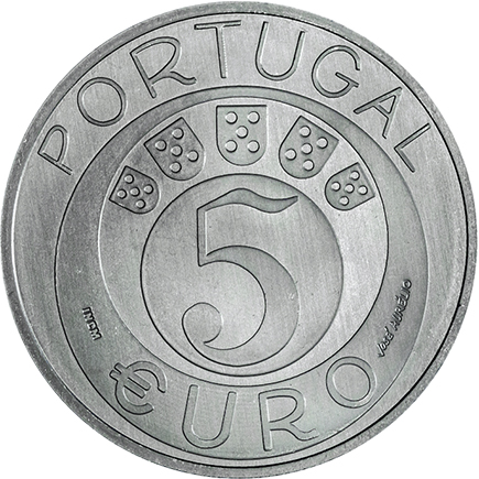 Portugal 5€ 45 Anos do 25 de Abril 2019
