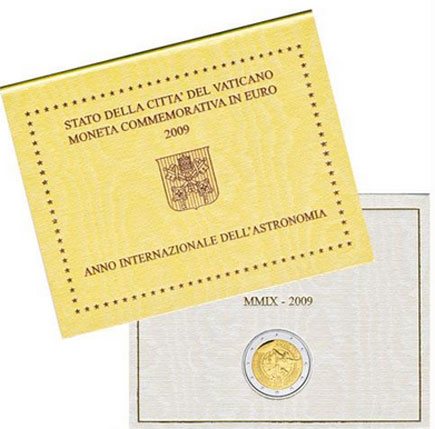 Vaticano 2€ Ano Internacional da Astronomia 2009