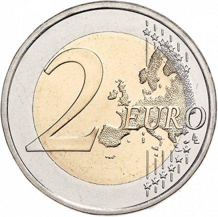 Áustria 2€  30 anos da Bandeira Europeia 2015