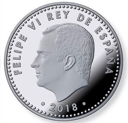 Espanha 30€ 50º Aniversário de Felipe VI 2018