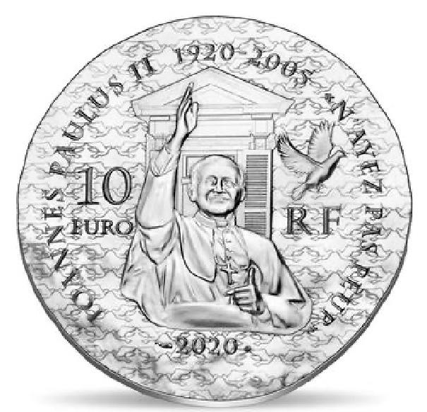 França 10€ Irmã  EMMANUELLE 2020