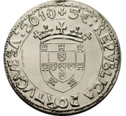 Portugal 5€  O Justo, D. João II 2010