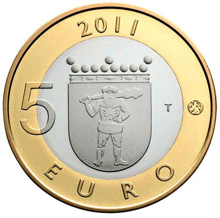 Finlândia 5€ Província de Lapland  2011