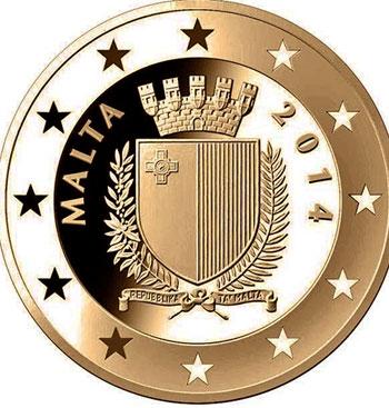 Malta 5€ 100 anos da 1ª Guerra Mundial