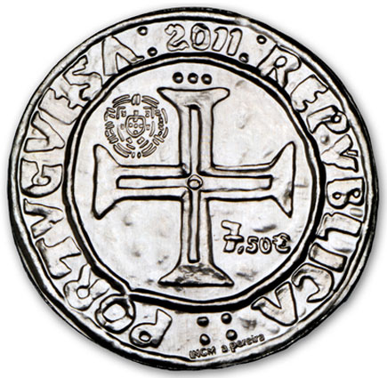 Portugal 7,50€  O Português de D. Manuel I 2011