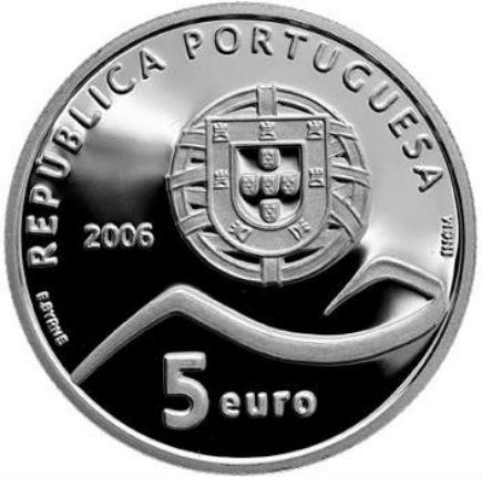Portugal 5€  Paisagem Cultural de Sintra 2006