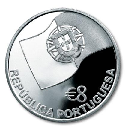 Portugal 8€ 1ª Linha Férrea Lisboa - Carregado 2006