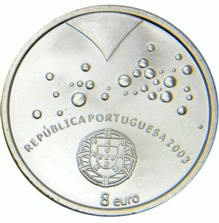 Portugal 8€  Futebol é Paixão 2003
