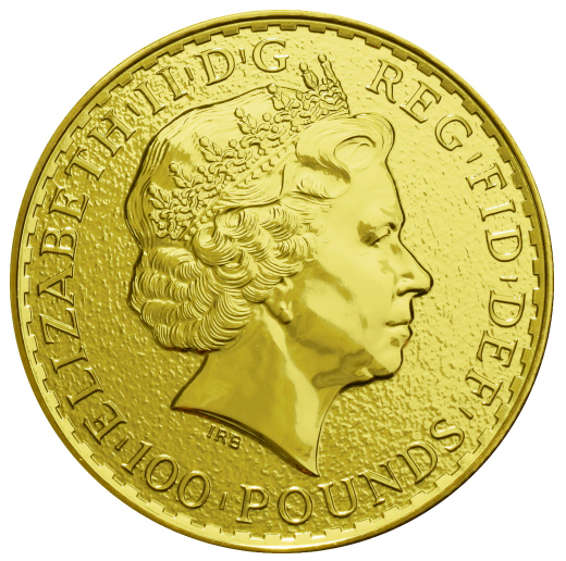 UK 100 Pounds (1 OZ) Britania 2015 Ouro