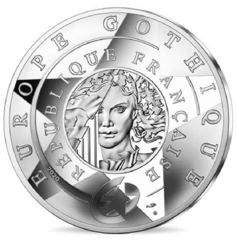 França 10€ GOTHIC ERA EUROPA 2020