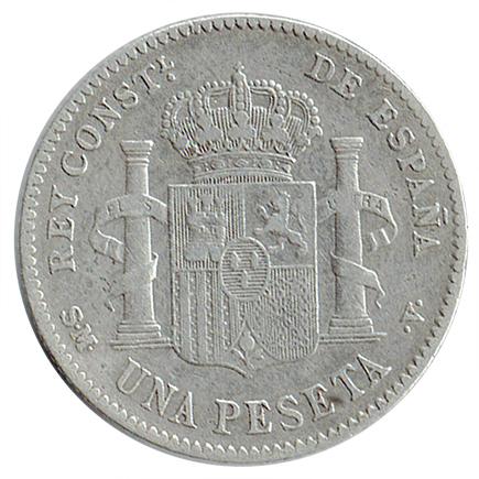 Espanha 1 Peseta de 1901