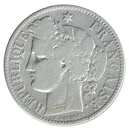 França 2 Francos de 1872