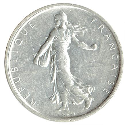 França 5 Francos de 1969